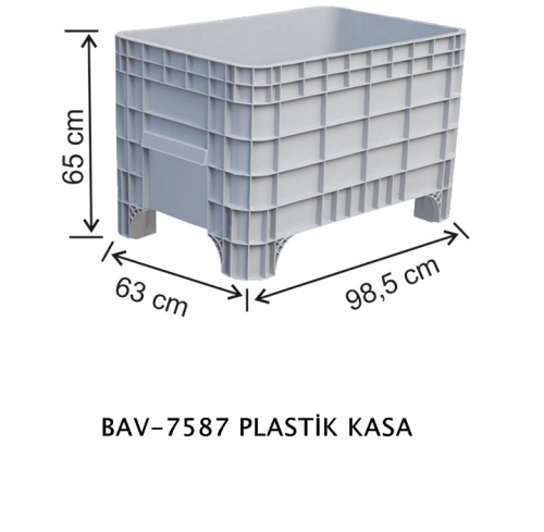 PLASTİK KASA (MEDIUM)